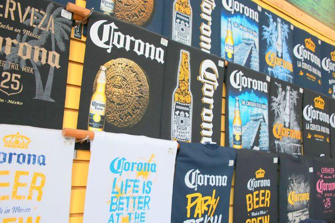 メキシコを代表するビールのTシャツ