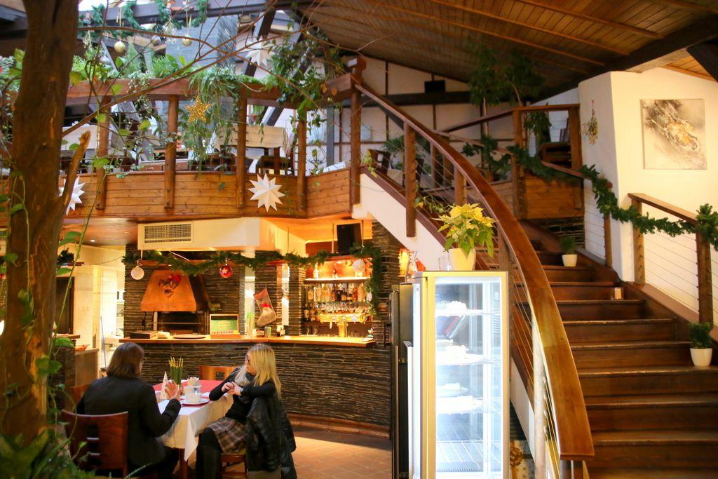 自然らしさが全体に漂うレストラン