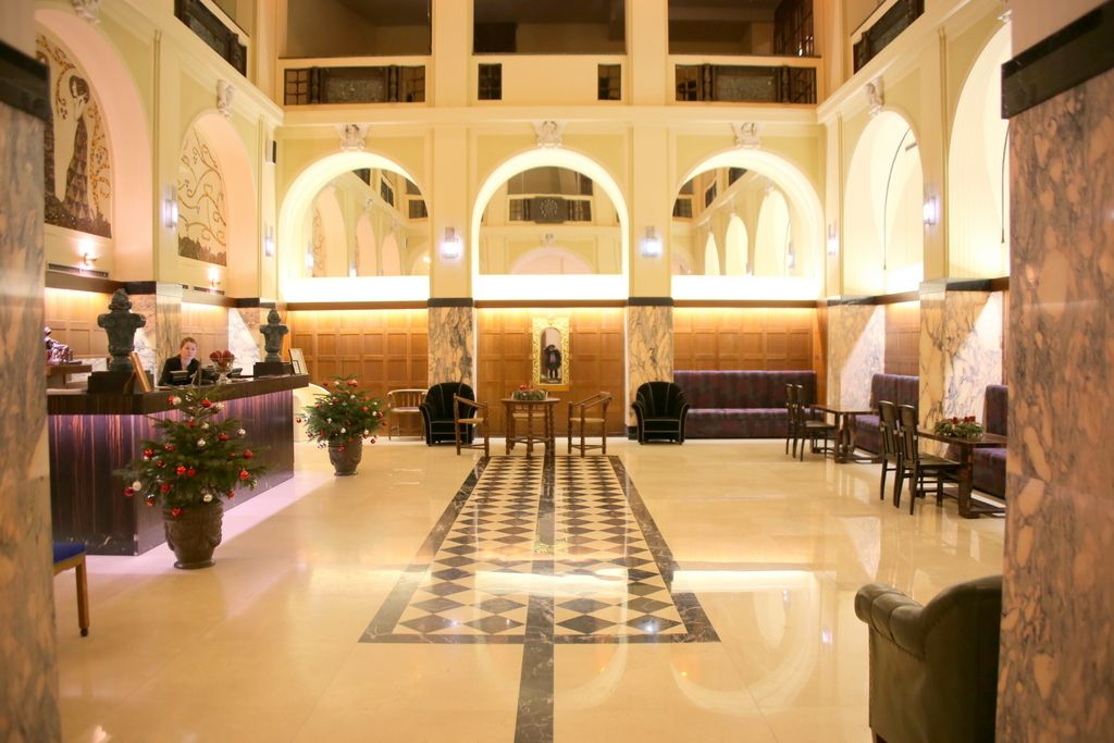 ラグジュアリーなホテルで最高の眺望を!チェコ・ブルノ「グランデッツァ」
