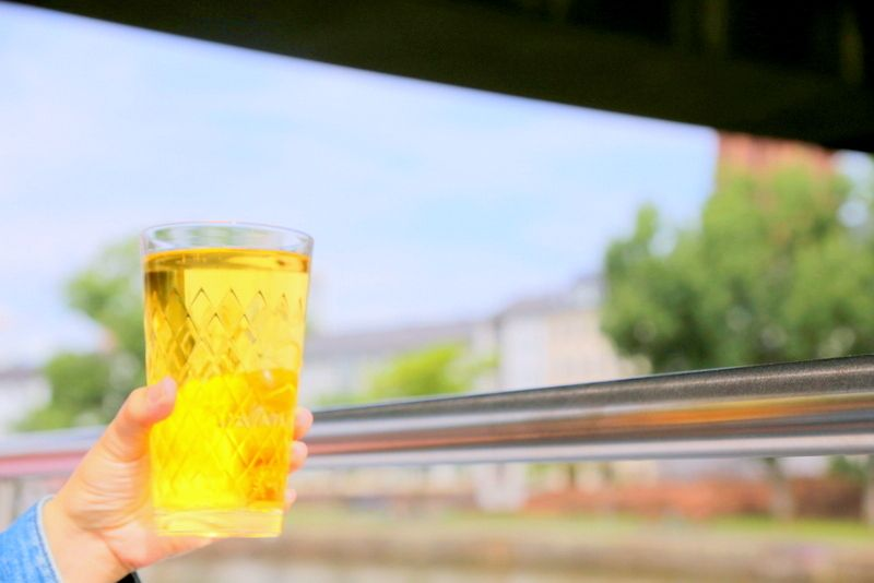 船旅で飲む極上の一杯