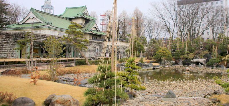 ほっと一息つける茶室「佐藤記念美術館・助庵」