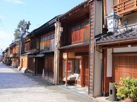 2回目の金沢旅行で訪れたい「にし茶屋街」周辺で過ごす静かなひととき