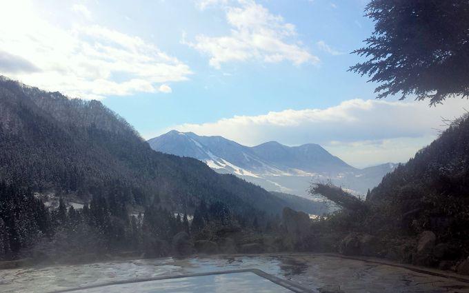スキー場と野天風呂のどちらも絶景!長野「木島平スキー場」
