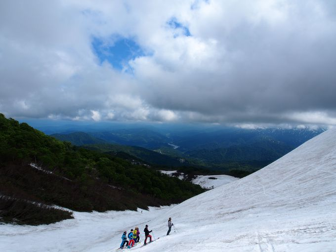 驚きのオープン期間!山形「月山スキー場」