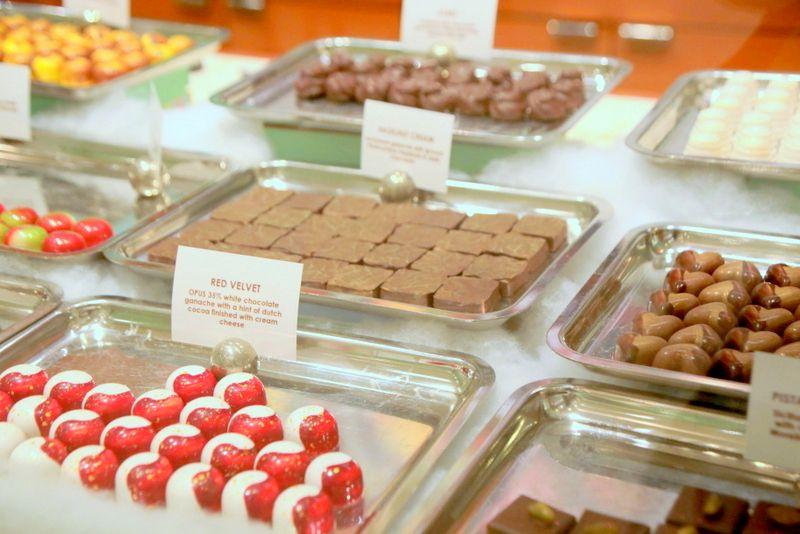 珍しい味の組み合わせなチョコレート