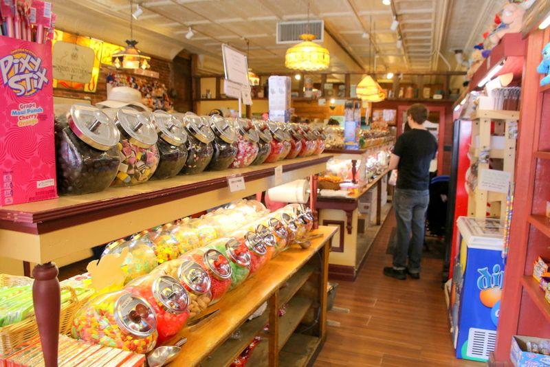 甘い香りのキャンディ・キッチン