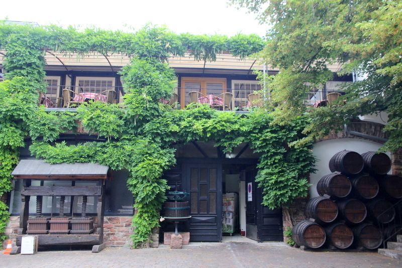 ワイン名産地にあるホテル