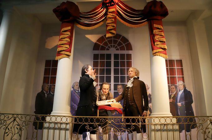 5つめ:大統領が見ていた景色を共有