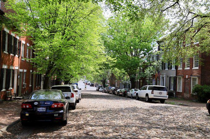 1つめ:古い町並みを散策