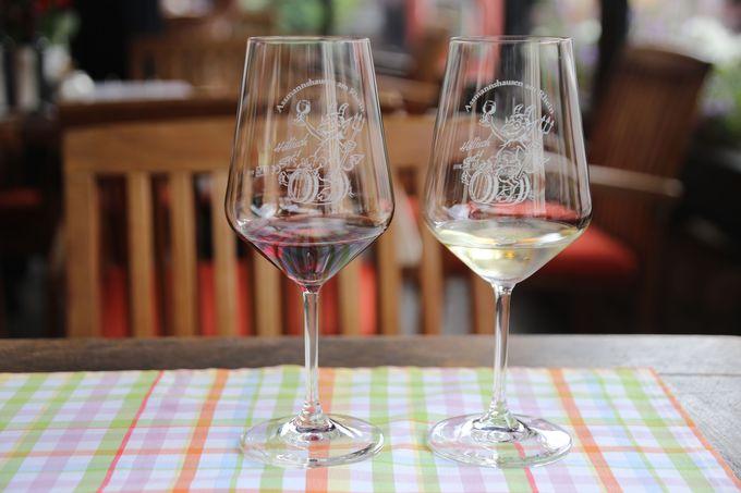 「ベルグ」で赤ワインも堪能