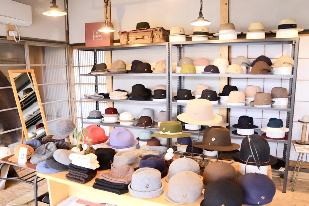 お気に入りの帽子を探すならここ!