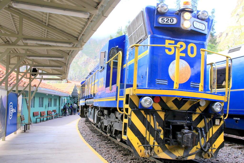 マチュピチュ行きの人気列車