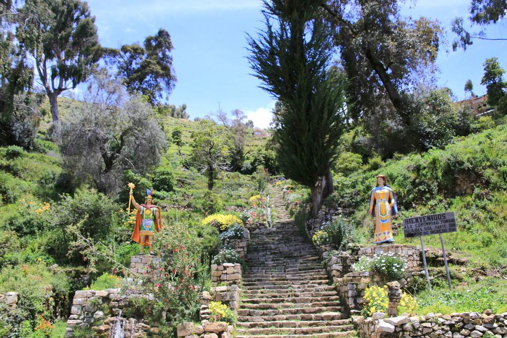 インカ帝国の重要人物が誕生した島