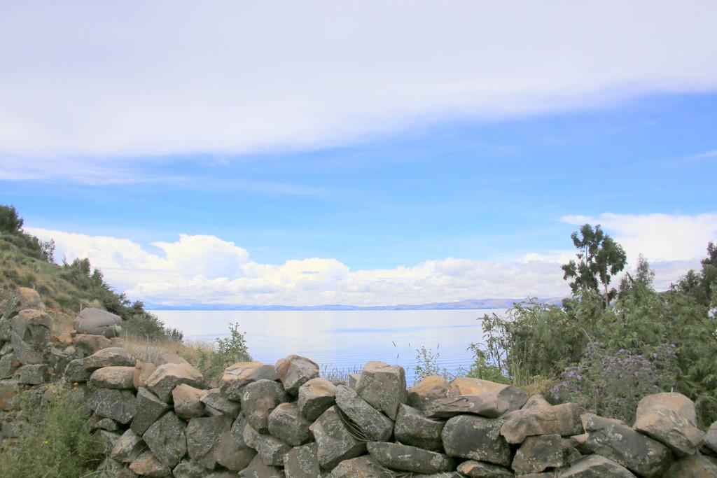 チチカカ湖に守られた環境