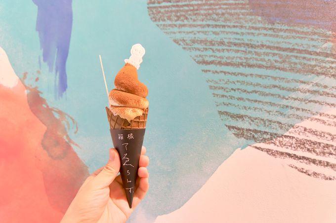 新しいタイプのソフトクリームも魅力