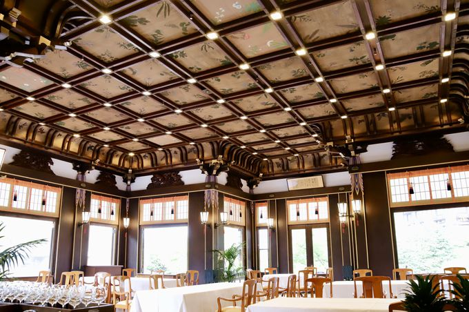 日本画の傑作は天井から静観