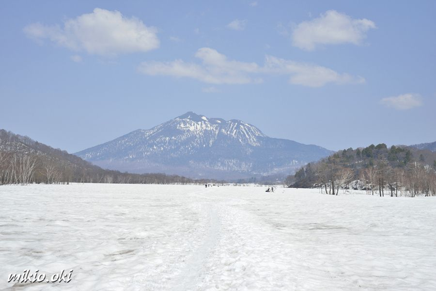 雪原と雄大な燧ヶ岳〜アクセスの注意点〜