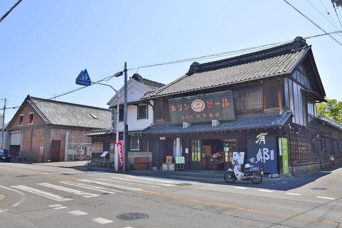 織物の町の中心地「伝建地区」〜日本遺産の歴史ある町並みを散策