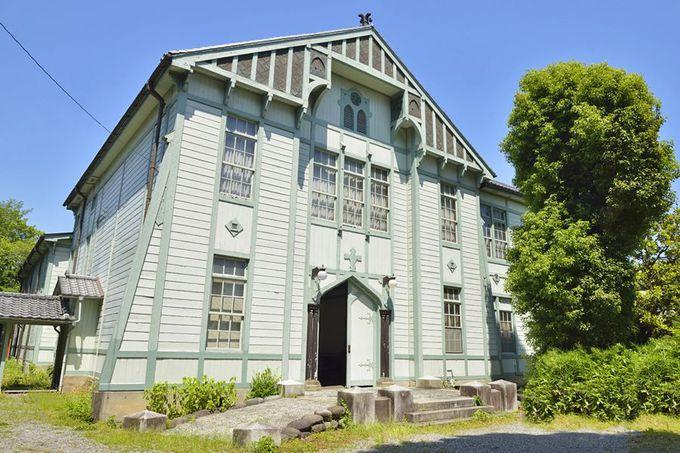 同窓記念会館〜桐生織物の発展に貢献した学び舎