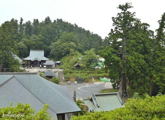 日蓮宗の大本山・清澄寺