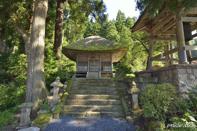 奥阿賀の古刹・平等寺