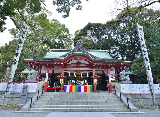 木の神様を祀る古社・来宮神社の由緒