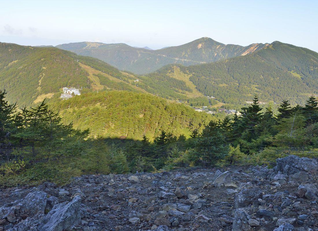黒斑山への登山コースを紹介