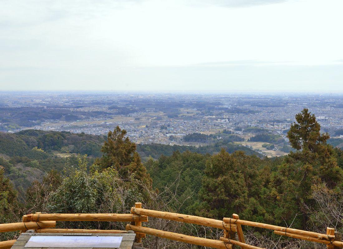 大高取山の展望地・幕岩