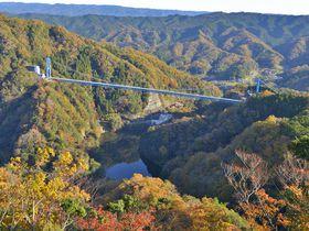 竜神伝説の渓谷で絶景を満喫!〜茨城・竜神峡と大吊橋