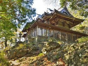 茨城百景の神秘と眺望の霊山・西金砂神社