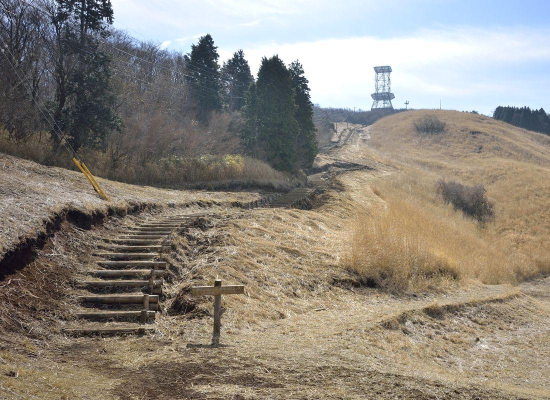 越前岳の十里木高原登山ルート