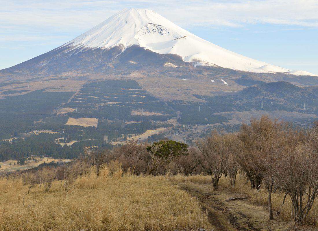 馬ノ背見晴台〜越前岳の中腹にある展望地