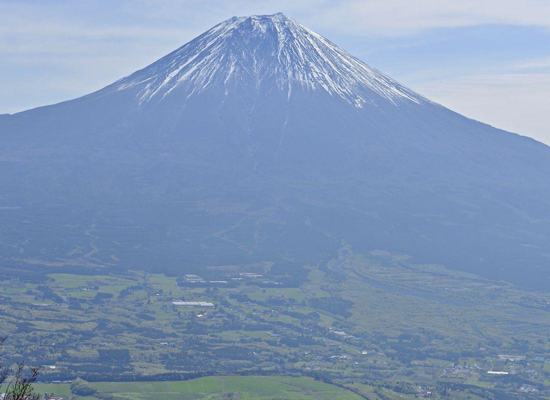 長者ヶ岳は富士山の絶景を望むハイキングの最適地