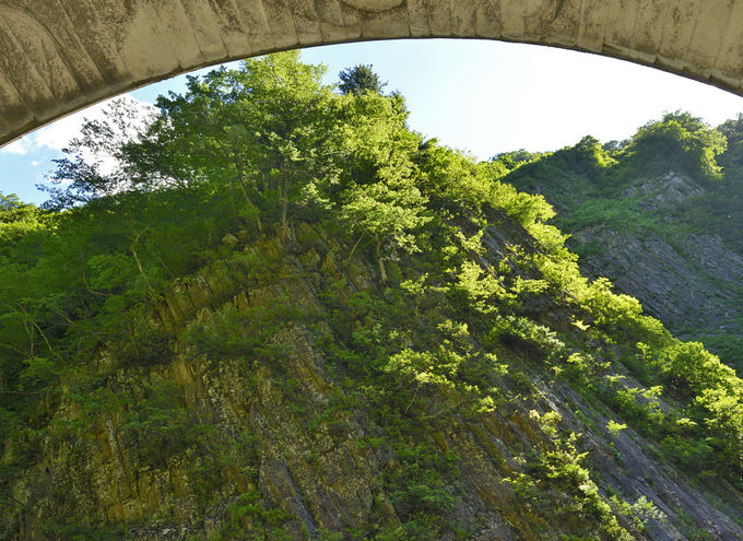 第1見晴所〜最初に目にする清津峡の絶景