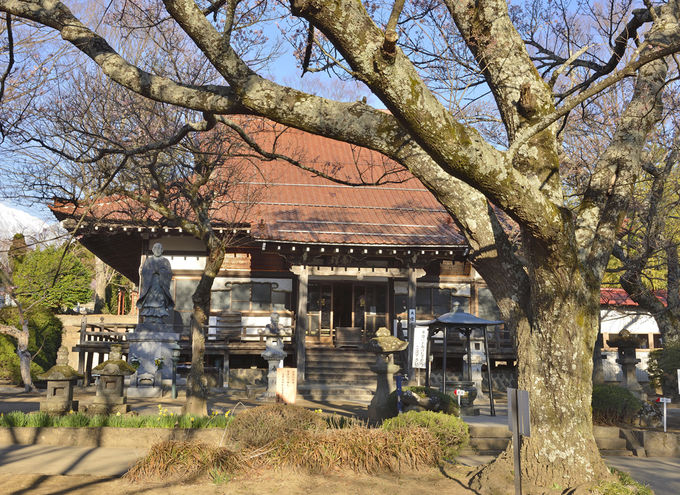 實相寺は山高の地に開かれた風雅な古刹