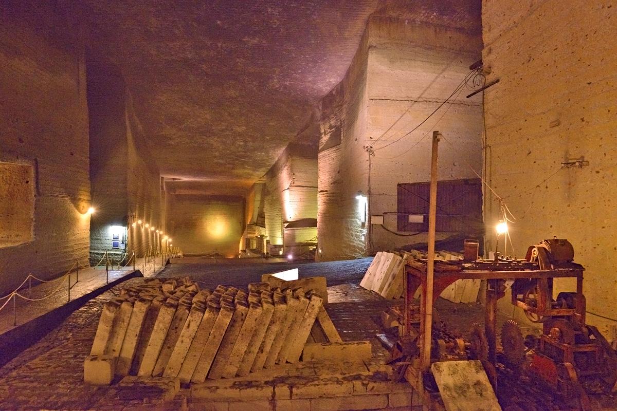大谷石文化の礎となった地下採石場跡