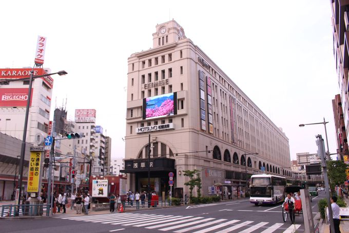 浅草駅からアクセス抜群のビアガーデン