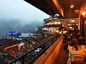 海悦楼茶坊のテラスで台湾茶!九フン名物の景色を楽しもう