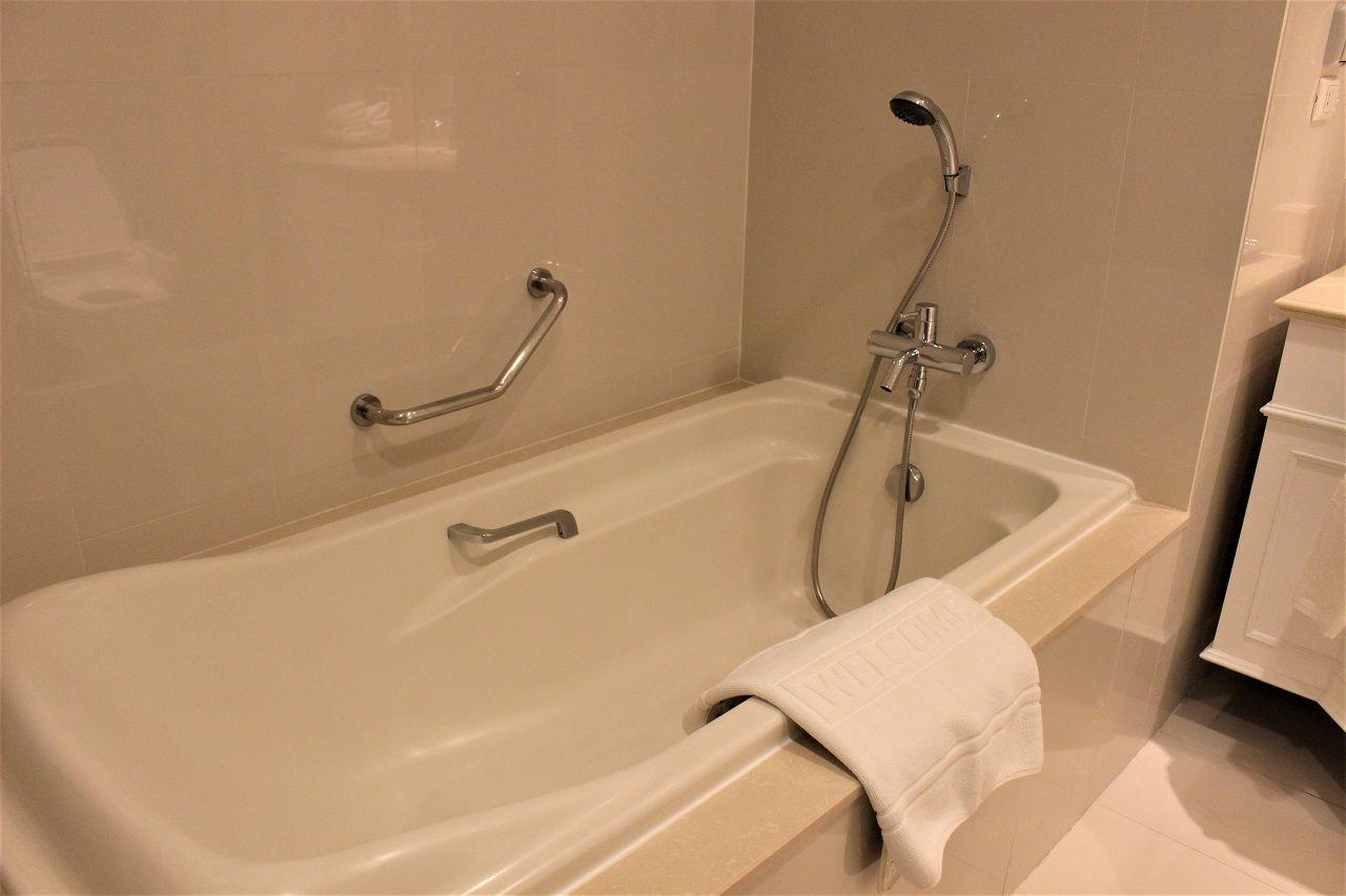 独立シャワーがうれしい!眺望も◎