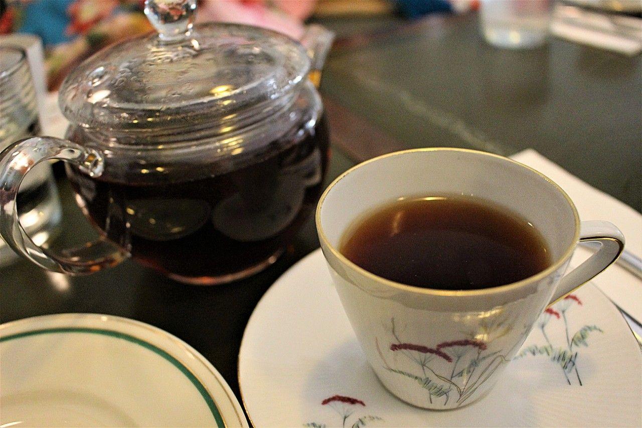 まずはパティスリーロージー厳選の紅茶をチョイス