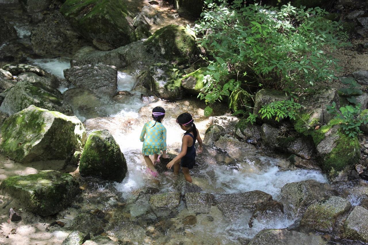 寿老の滝の下流にも行ってみよう