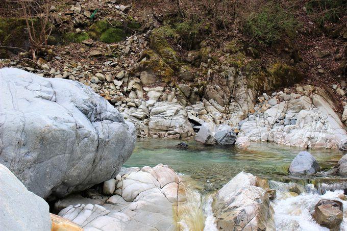 付知川を間近に!さらに上流へ
