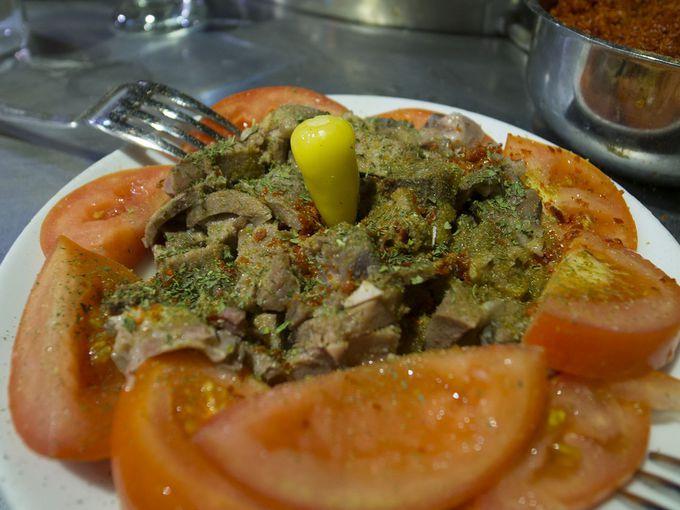 アダナのモツ料理「ケッレパチャ」
