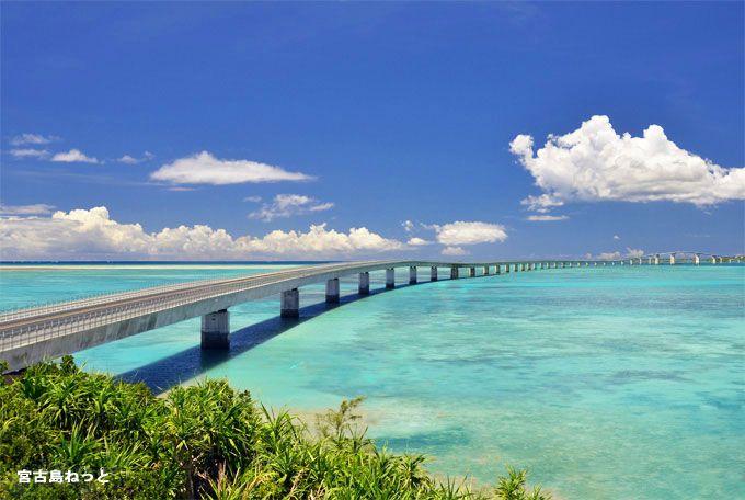 青い海の上を颯爽と走り抜ける!最高のドライブスポット伊良部大橋