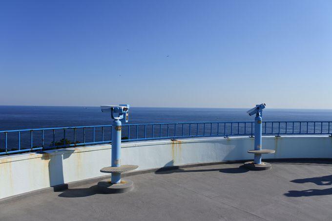「潮岬観光タワー」から見る360度大パノラマ