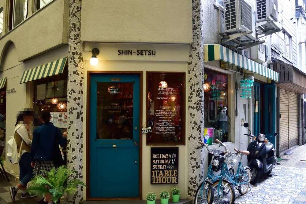 レトロ可愛い雰囲気のお店は女子にも大人気