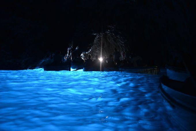 9.青の洞窟(カプリ島)