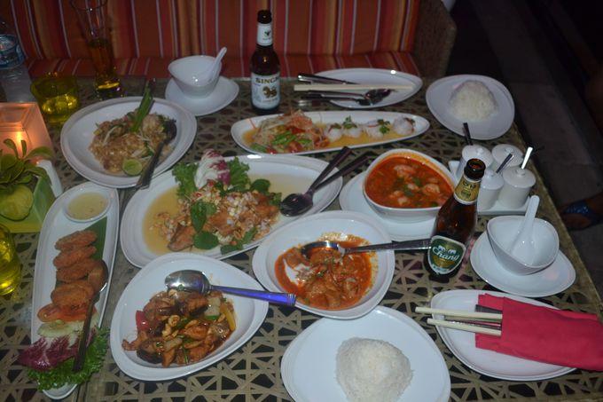 様々な種類のレストランが揃う!