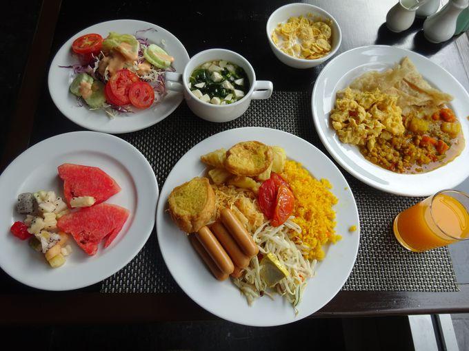 種類豊富で美味しい朝食バイキング
