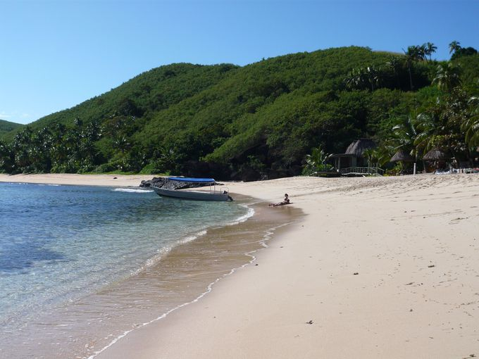 綺麗なビーチが多いビティレブ島南部